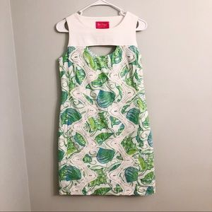 Lilly Pulitzer Jubilee Green Floral Dress Size 6